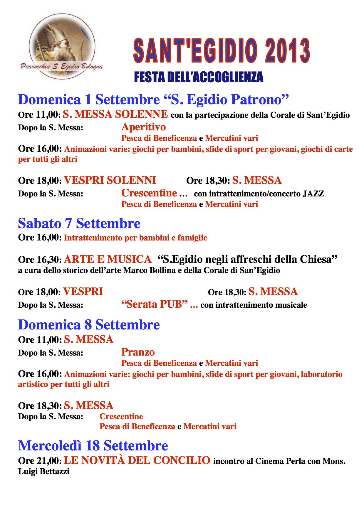 FestaSantEgidio2013_programma